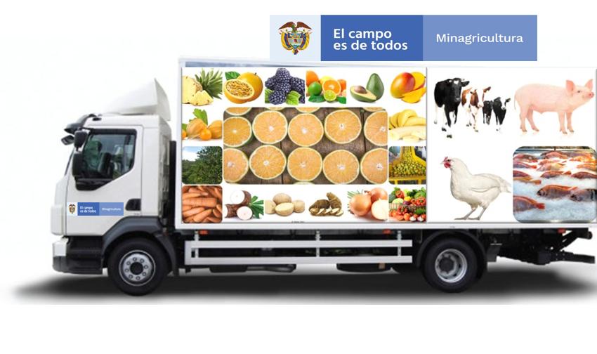 Apoyo al Transporte de Productos Perecederos Agrícolas y Pecuarios para la Comercialización en zonas diferentes al municipio de producción