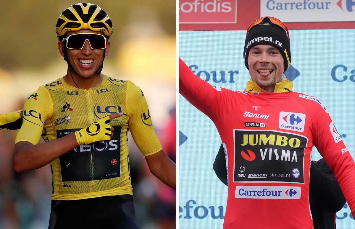Roglic y Bernal, los llamados a ganar la Vuelta a España