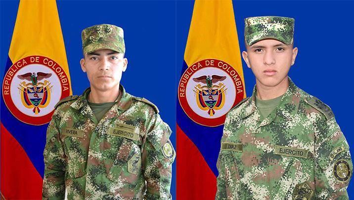 Mueren dos jóvenes soldados que fueron impactados por un rayo en el Municipio de Hacarí-Norte de Santander