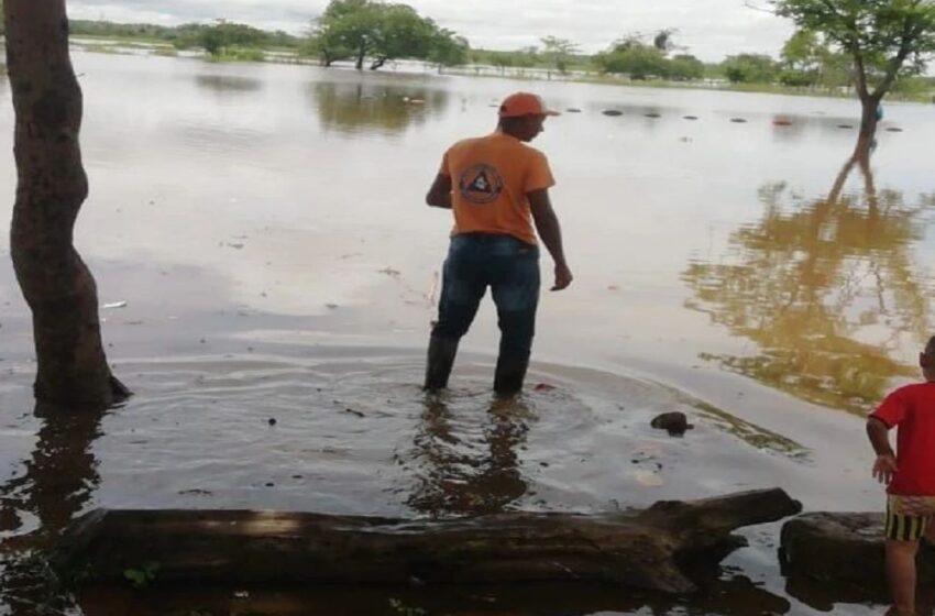 Inundaciones en Puerto Wilches por el desbordamiento de una ciénaga