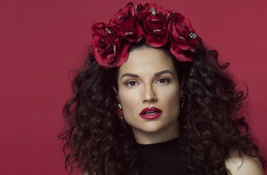 La cantante española Natalia Jiménez prepara su nuevo álbum de mariachi y banda