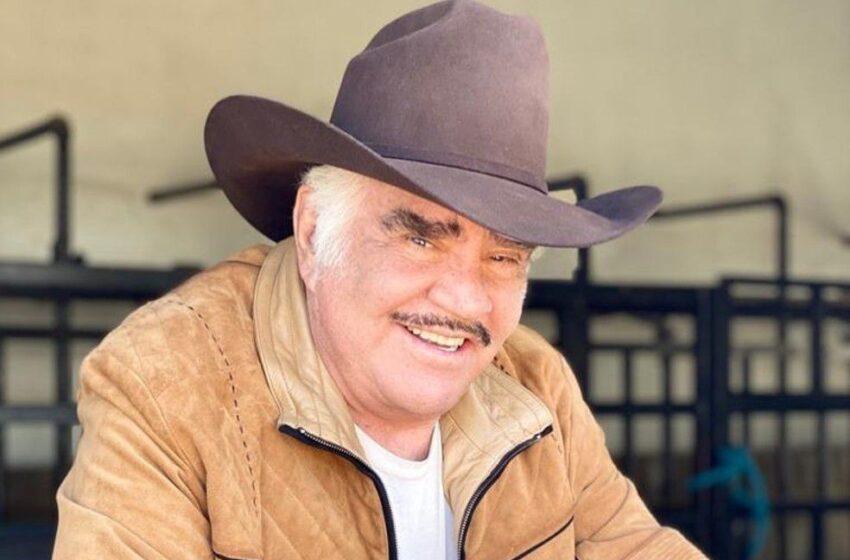 Mucha expectativa hay en torno a la salud del astro de la ranchera, Vicente Fernández